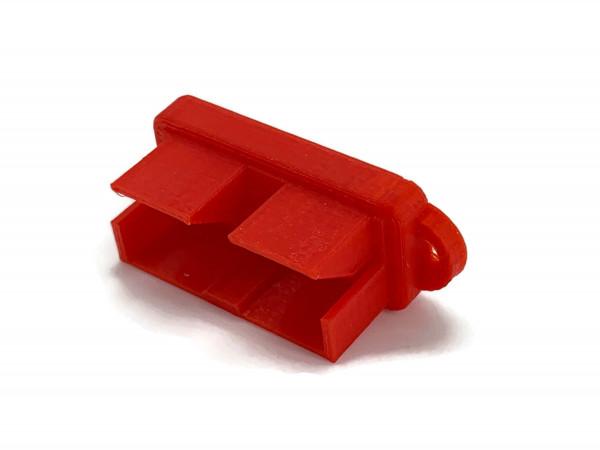 Staubschutz Plastik-Abdeck-Kappe-Abdeckung für eXODA Stecker 50A für SB50 Steck-Verbindung