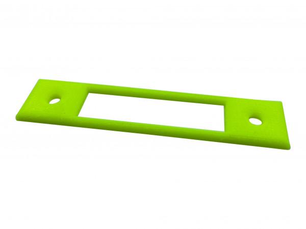 Steckdosen Schablone Neon bis 10 cm