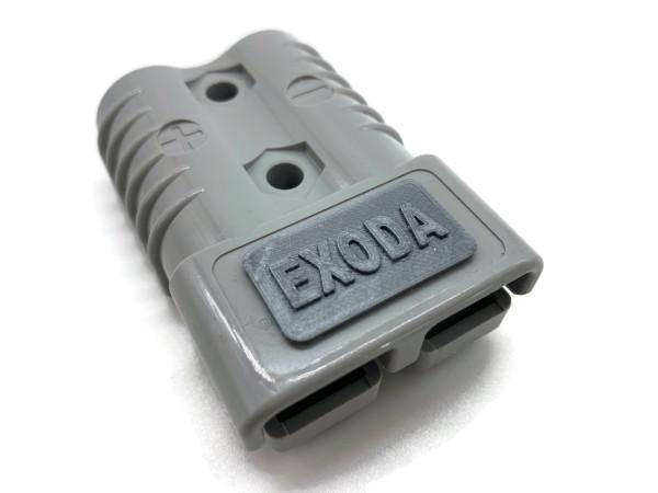Batterie Stecker 175A 50 mm2 grau Steckverbinder für Gabelstapler Kabel