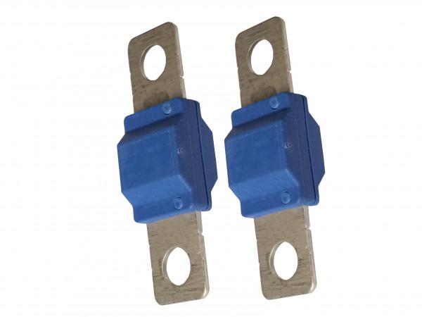 2x Starkstrom-Sicherung 100A für Midival Schmelz-Leistungs-KFZ-Batteriekabel