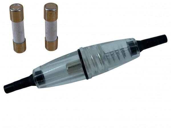 Sicherungshalter 12 Volt 10A Halterung KFZ mit 2x 5A Sicherung