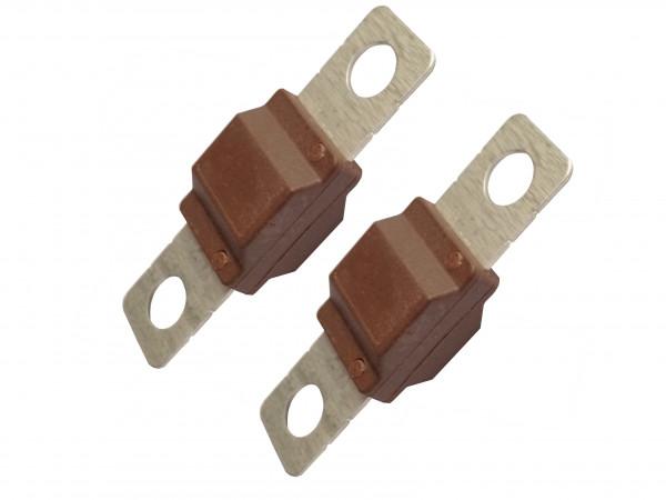 2x Starkstrom-Sicherung 70A für Midival Schmelz-Leistungs-KFZ-Batteriekabel von eXODA