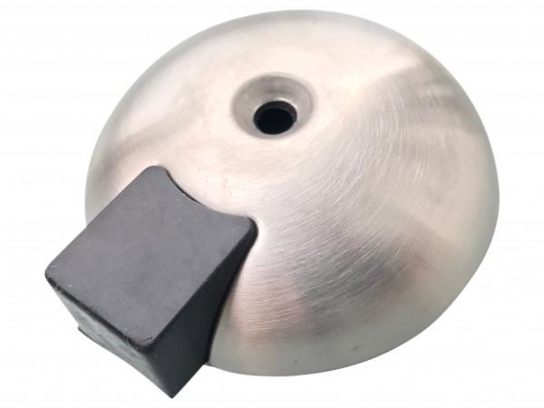 Türstopper Edelstahl 70mm Boden Schildkröte mit Schraube und Dübel 5 Jahre Garantie