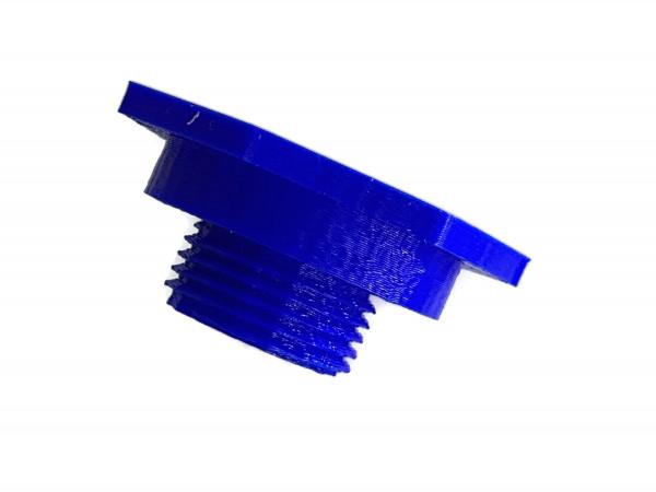 LPG Tankdeckel mit M22 Gewinde DISH Autogas Tankverschluss blau
