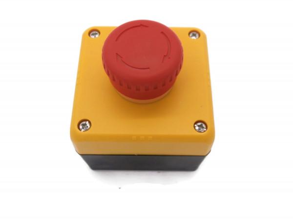 Notausschalter 230V Schlagschalter Not-Halt-Taster IP65 Staubdicht