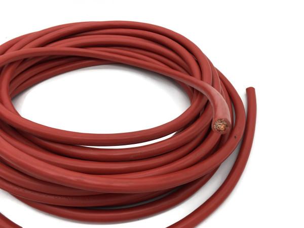 Batteriekabel 35 mm² 10m Kupferkabel Rot H07V-K35 am Stück