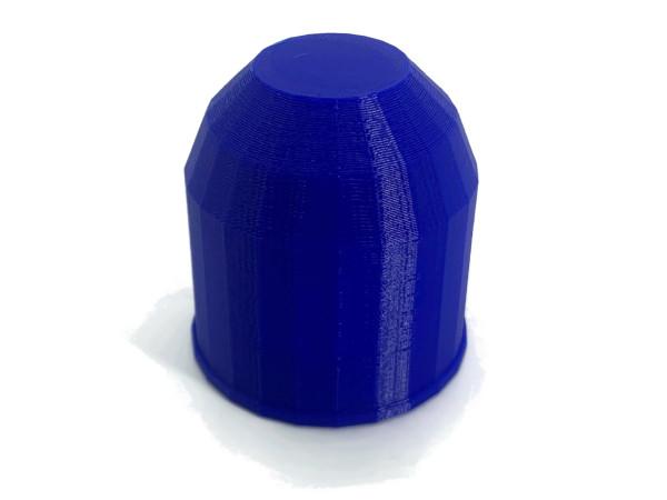 Anhängerkupplung Abdeckung Kappe für Kugelkopf AHK biologisch abbaubar Blau