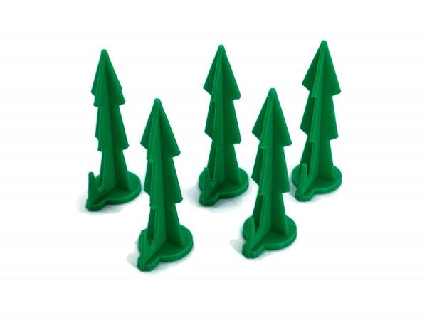 Rasennägel Mähroboter in Grün 5x mit Widerhaken für weiche Böden fixiert Suchkabel Begrenzungskabel