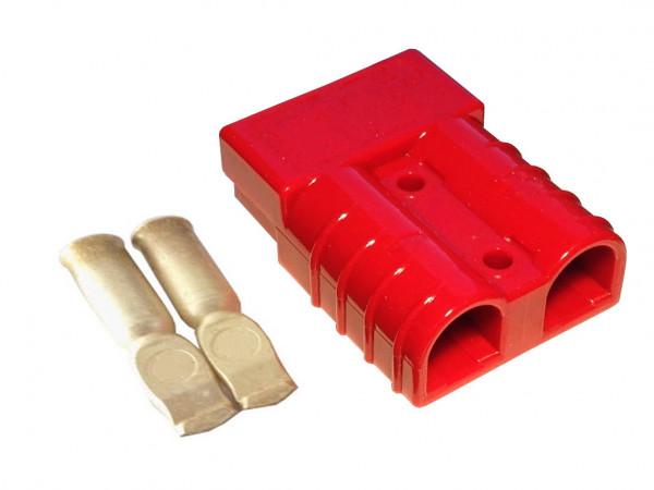 Batterie Stecker 175A 35 mm2 rot Steckverbinder für Gabelstapler Kabel
