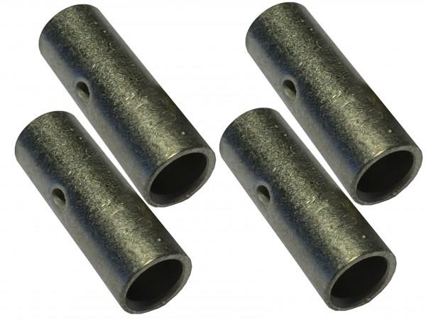 4x Stossverbinder 25mm² 29mm für Batteriekabel zum verpressen löten