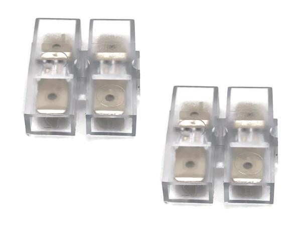 Elastik Steckverbinder 6,3 x 0,8 mm 2-polig